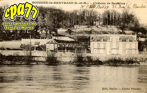Boissise La Bertrand - Château de Beaulieu