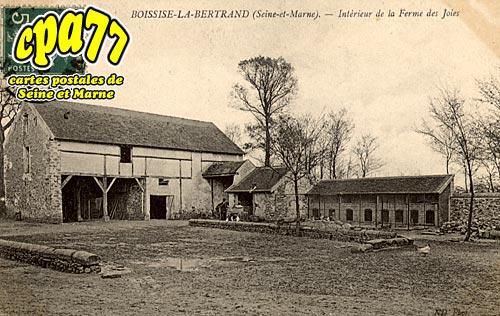 Boissise La Bertrand - Intérieur de la Ferme des Joies