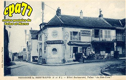 Boissise La Bertrand - Hôtel Restaurant, Tabac