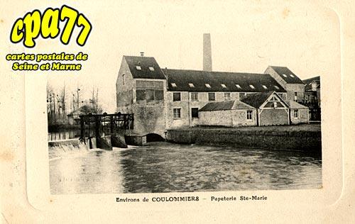 Boissy Le Châtel - Papeterie Ste-Marie