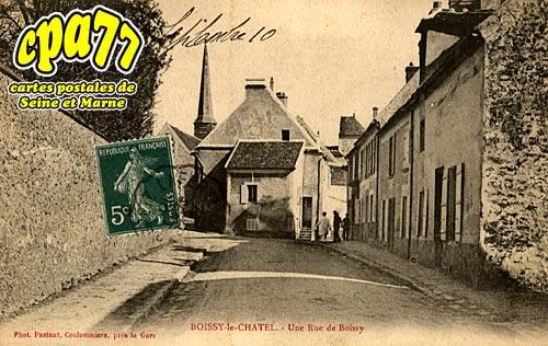 Boissy Le Châtel - Une Rue de Boissy