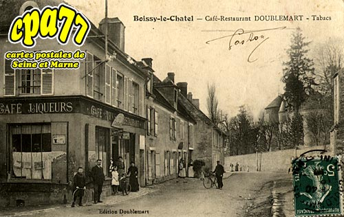 Boissy Le Châtel - Café-Restaurant DOUBLEMART - Tabacs