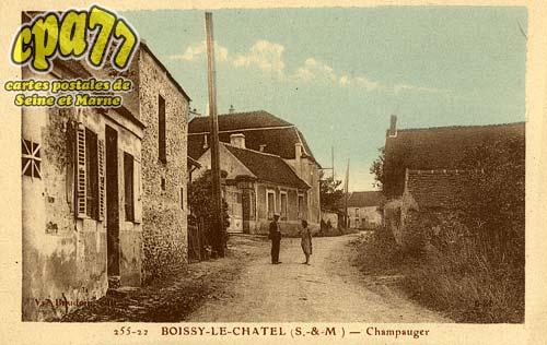 Boissy Le Châtel - Champauger