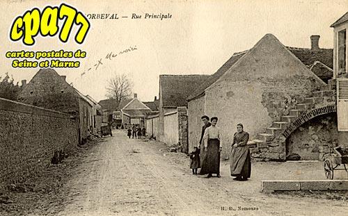 Bougligny - Corbeval - Rue Principale