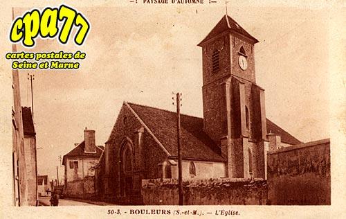 Bouleurs - L'Eglise