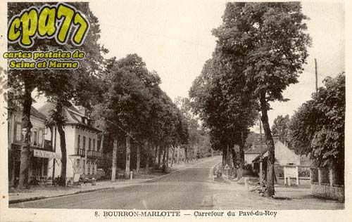 Bourron Marlotte - Carrefour du Pavé-du-Roy