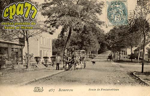 Bourron Marlotte - Route de Fontainebleau