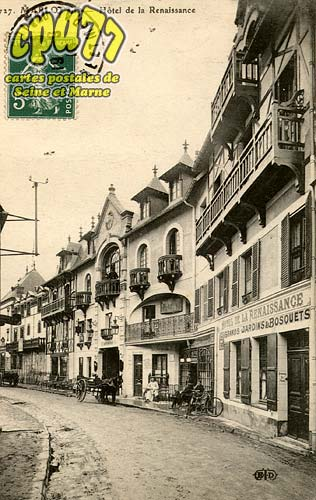 Bourron Marlotte - Hôtel de la Renaissance