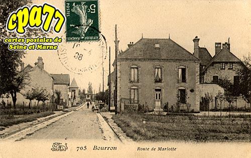 Bourron Marlotte - Route de Marlotte