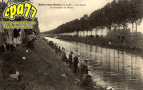 Bray Sur Seine - Le Canal - Le Concours de Pêche