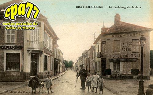 Bray Sur Seine - Le Faubourg de Jaulnes