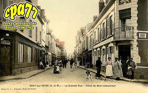 Bray Sur Seine - La Grande Rue - Hôtel du Bon Laboureur
