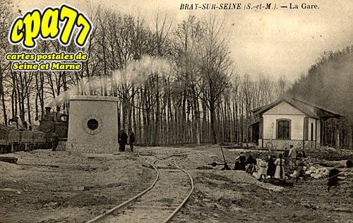 Bray Sur Seine - La Gare (en l'état)