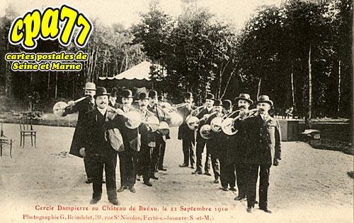 Bréau - Cercle Dampierre au Château de Bréau, le 22 septembre 1910