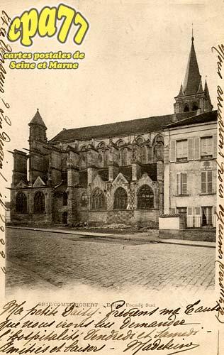 Brie Comte Robert - Eglise, façade sud