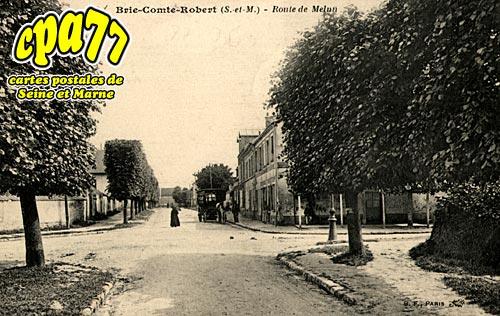 Brie Comte Robert - Route de Melun