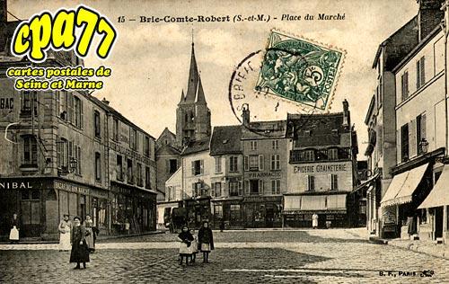 Brie Comte Robert - Place du Marché