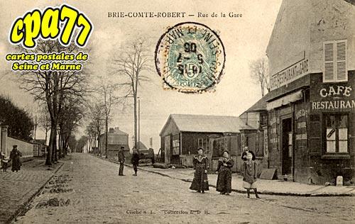 Brie Comte Robert - Rue de la Gare