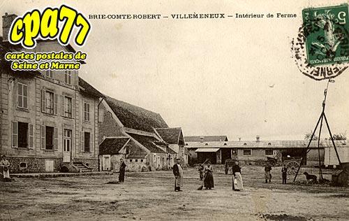 Brie Comte Robert - Villemeneux - Intérieur de Ferme