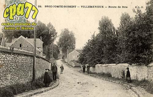 Brie Comte Robert - Villemeneux - Route de Brie