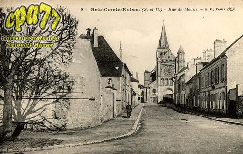 Brie Comte Robert - Rue de Melun