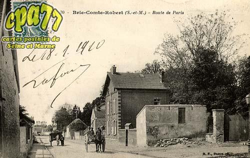 Brie Comte Robert - Route de Paris