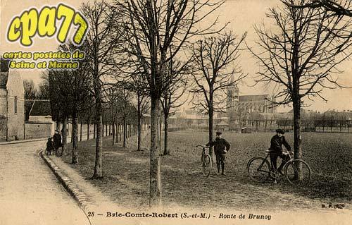 Brie Comte Robert - Route de Brunoy