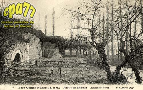 Brie Comte Robert - Ruines du Château - Ancienne Porte