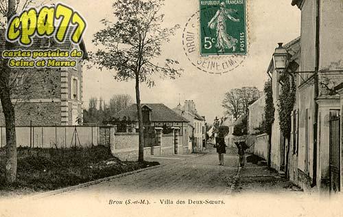 Brou Sur Chantereine - Villa des Deux-Soeurs