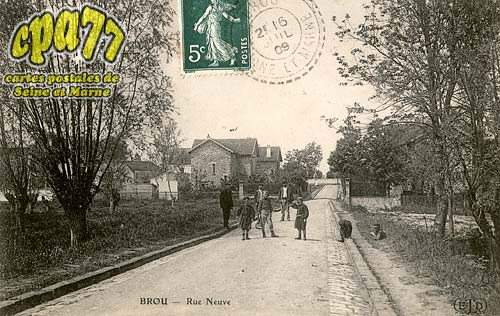 Brou Sur Chantereine - Rue Neuve