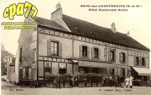 Brou Sur Chantereine - Hôtel Restaurant Rubin