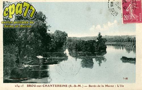 Brou Sur Chantereine - Bords de la Marne : l'Ile