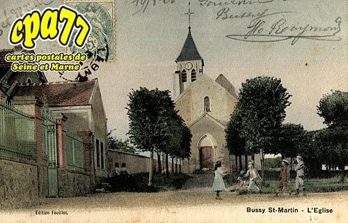 Bussy St Georges - L'Eglise