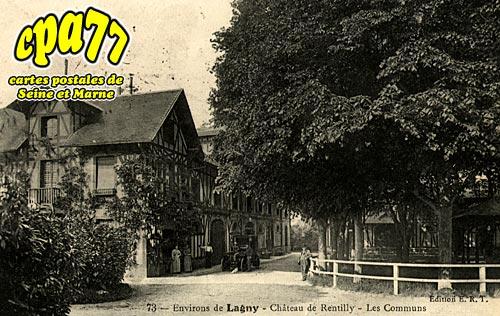 Bussy St Georges - Château de Rentilly - Les Communs