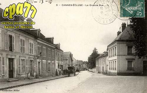 Cannes écluse - La Grande-Rue