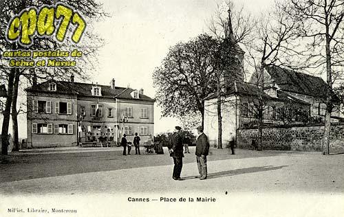 Cannes écluse - Place de la Mairie