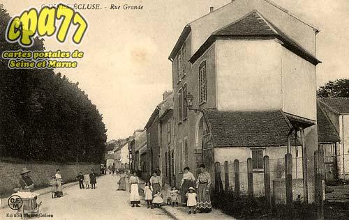 Cannes écluse - Rue Grande