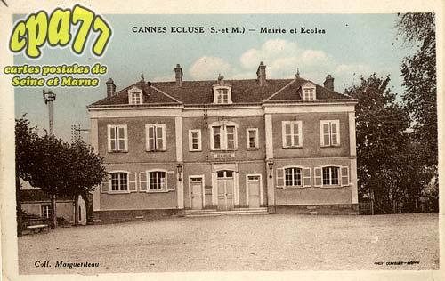 Cannes écluse - Mairie et Ecoles