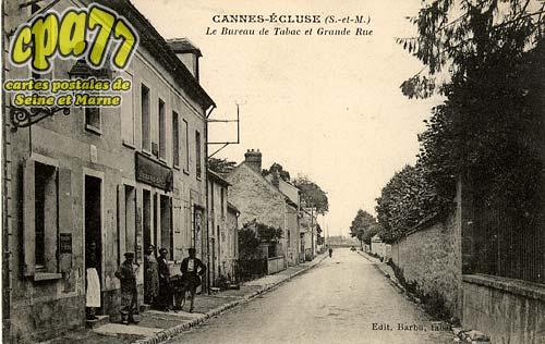 Cannes écluse - Le Bureau de Tabac et Grande Rue