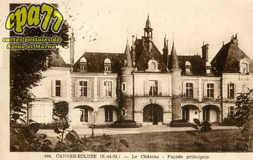 Cannes écluse - Le Château - Façade principale