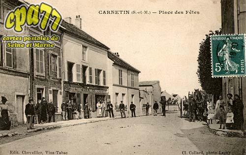 Carnetin - Place des Fêtes