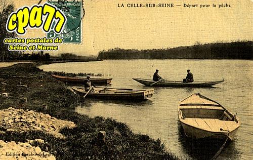 La Celle Sur Seine - Départ pour la Pêche