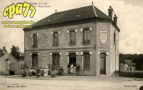La Celle Sur Seine - Hôtel Moderne - Legrand, Propriétaire