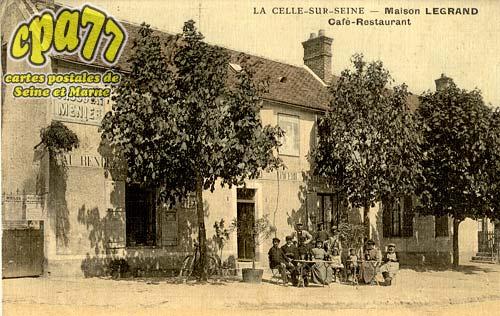 La Celle Sur Seine - Maison Legrand - Café-Restaurant
