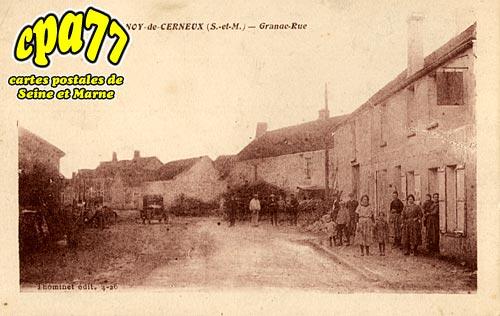 Cerneux - Chanoy-de-Cerneux - Grande Rue