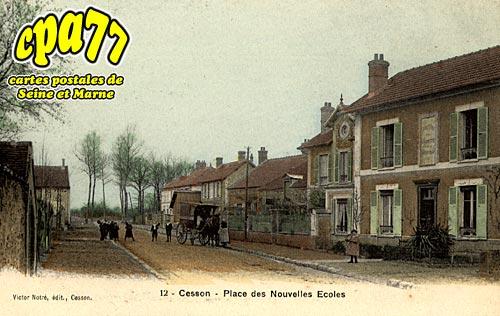 Cesson - Place des Nouvelles Ecoles
