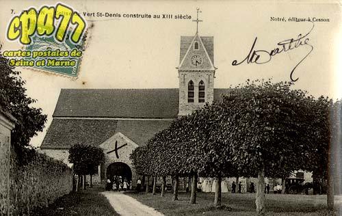 Cesson - Eglise de Vert-St-Denis construite au XIII siècle