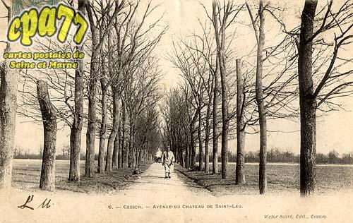 Cesson - Avenue du Château de Saint-Leu