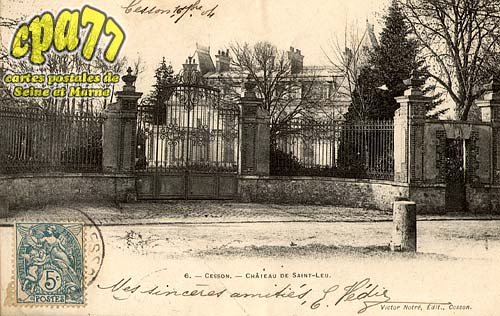 Cesson - Château de Saint-Leu