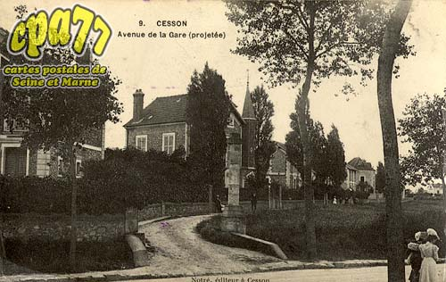 Cesson - Avenue de la Gare (projetée)